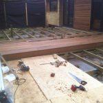 Ny terrasse Brønshøj, Herlev, Rødovre, træterrasse bygges med mørk træ