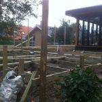 Ny terrasse Brønshøj, Herlev, Rødovre, klargjort til at bygge terrasse