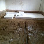 Gulvvarme Brønshøj, Herlev, Rødovre, beskidt rum gøres klar