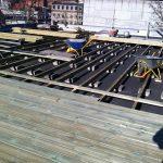 Ny terrasse Brønshøj, Herlev, Rødovre, lys træterrasse bygges