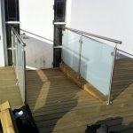 Ny terrasse Brønshøj, Herlev, Rødovre, tagterrasse med glas gelænder