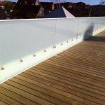 Ny terrasse Brønshøj, Herlev, Rødovre, tagterrasse med hvid gelænder