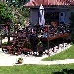 Ny terrasse Brønshøj, Herlev, Rødovre, flot mørk terrasse