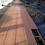 Ny terrasse Brønshøj, Herlev, Rødovre, terrasse bygges af træ